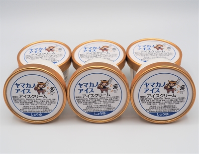 ヤマカノアイス(しょうゆ) 6個入り