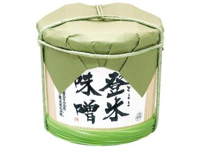 登米味噌(とよまみそ)2kg木樽