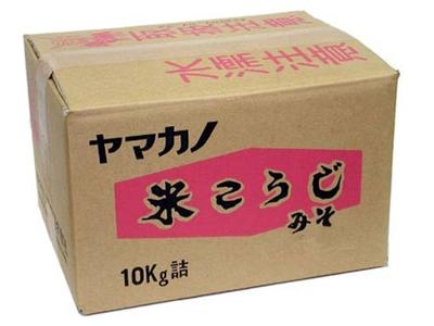 米こうじ味噌 10kgダンボール入り