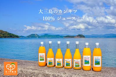 大三島のジュース 3品種セット(送料込)
