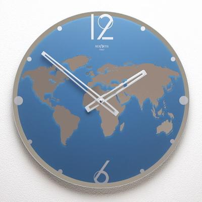 REXARTIS ガラス製掛け時計「LAND」