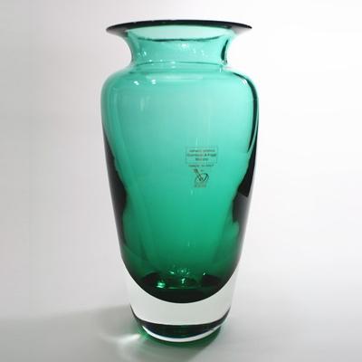 Gambaro&Poggi ムラーノガラス花瓶「SOMMERSO-203」