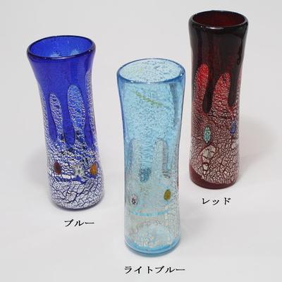 ZECCHIN ベネチアンガラス花瓶「GOCCIA H19」