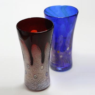 ZECCHIN ベネチアンガラス花瓶「GOCCIA H25」