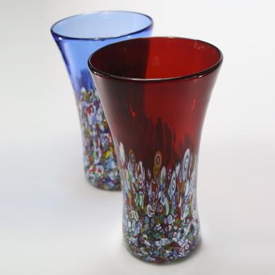 ZECCHIN ベネチアンガラス花瓶「SAN MARCO H25」
