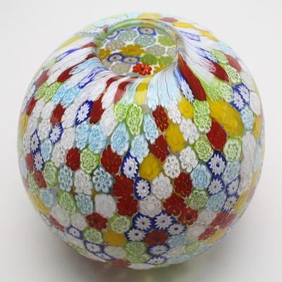 ZECCHIN FIORE ベネチアンガラス花瓶「MURRINA PALLA」