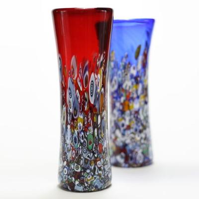 ZECCHIN ベネチアンガラス花瓶「SAN MARCO H19」