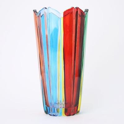 ZECCHIN ガラス製フラワーベース「COROLLA」