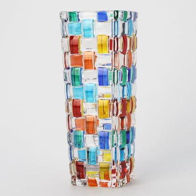 ZECCHIN ガラス製フラワーベース 「BOSSANOVA H16」