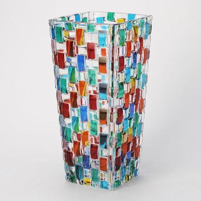 ZECCHIN ガラス製フラワーベース 「BOSSANOVA H20」