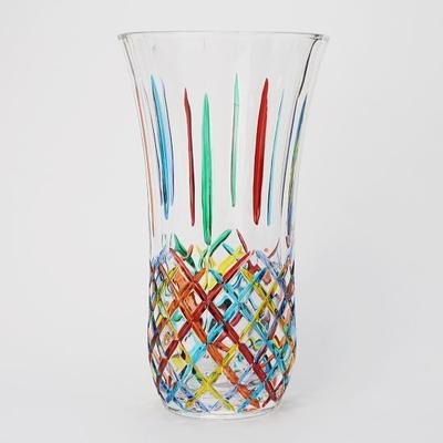 ZECCHIN ガラス製フラワーベース 「OPERA」