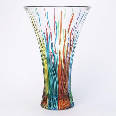 ZECCHIN ガラス製フラワーベース 「FIRE」