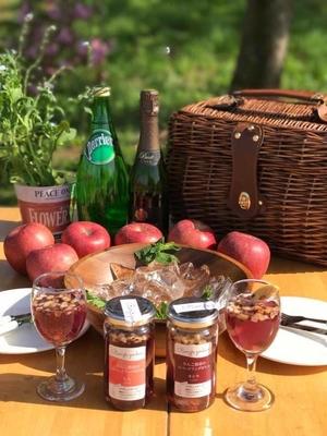 りんご農家のスパークリングボトル