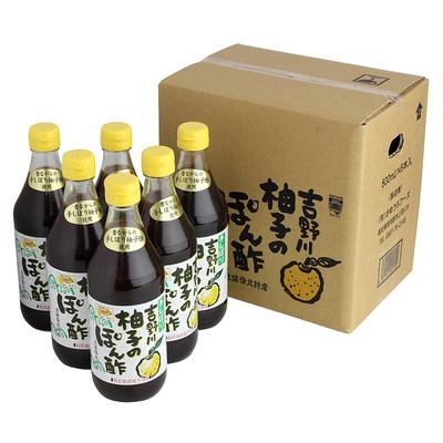柚子のぽん酢500ml 6本入り(箱)