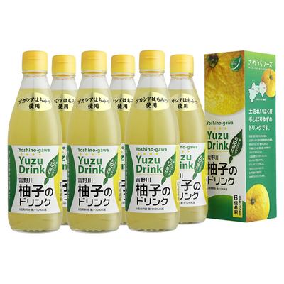 吉野川柚子のドリンク 6本セット