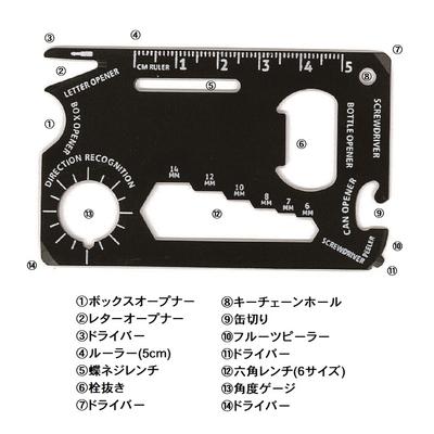 マルチカードツール(アルミケース入)