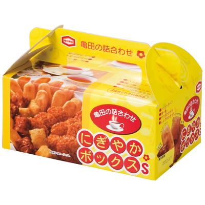 亀田製菓 せんべい・おかき詰合せにぎやかボックス-S