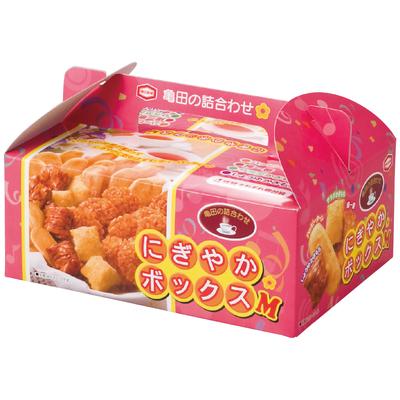 亀田製菓 せんべい・おかき詰合せにぎやかボックス-M