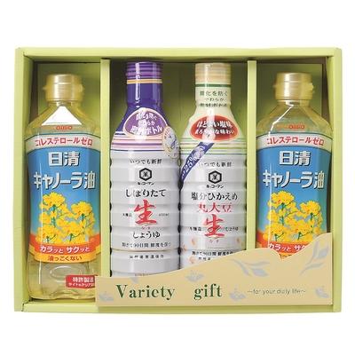キッコーマン・日清 調味料ギフトKN-24