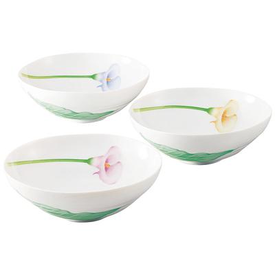 香蘭社 カラーリリー 三ツ組中鉢