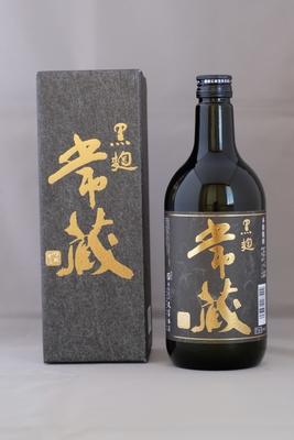 麦焼酎「常蔵・黒麹」30度 720ml