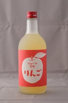 「フルーツ家族・りんご」8度 720ml