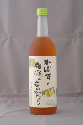「かぼすと梅酒のものがたり」12度 720ml(箱無)