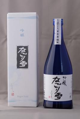 吟醸「なごり雪」15度 720ml(箱入)