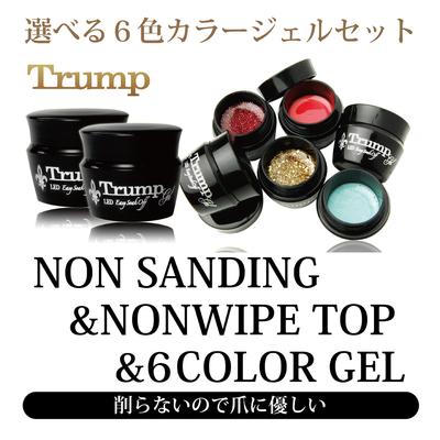 NON SANDING・NON WIPE TOP・6 COLOR(ノンサンディングベース・ノンワイプトップ・6カラー)セット