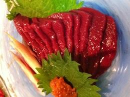 国産馬刺し 桜ロース (200g)