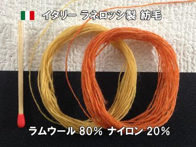 イタリー ラネロッシ製 紡毛 100g