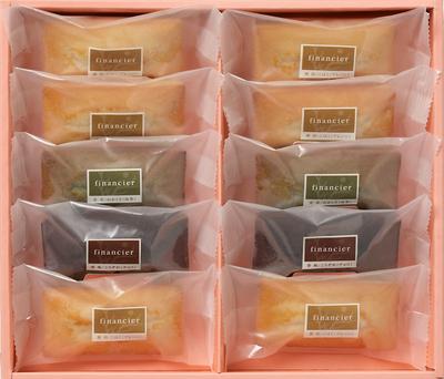 奈良MAHOROBA フィナンシェ詰合せ 38g×10枚(プレーン×6、抹茶×2、チョコ×2)