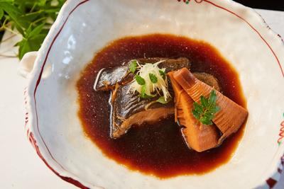 かんざ   銀鱈の煮付け