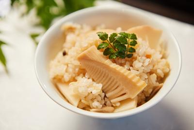 かんざ  炊き込み竹の子御飯  (米1合分)