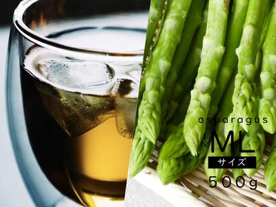 翠茎茶とアスパラガス