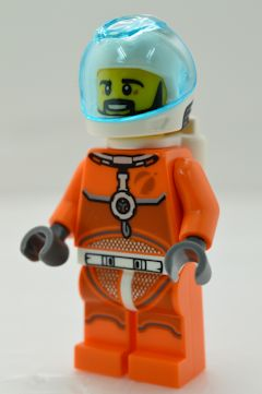 F5088 宇宙飛行士(ヒゲ[黒]、#60229)