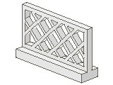 %3185 フェンス[白]1x4x2