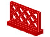 %3185 フェンス[赤]1x4x2