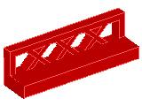 %3633 フェンス[赤]1x4