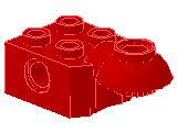 %48170 関節ブロック[赤]2x2(ロック、下向きソケット)