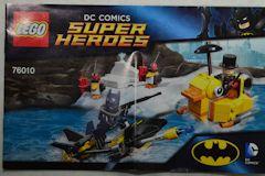 #76010 バットマン・ペンギンフェイスオフの組立説明書