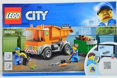 #60220 ゴミ収集トラックの組立説明書