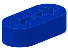 %41677 リフトアーム[青]1x2x1/2(軸穴)
