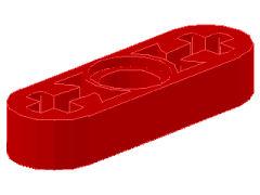 %6632 リフトアーム[赤]1x3x1/2