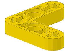 %32056 リフトアーム[黄]3x3x1/2(L)