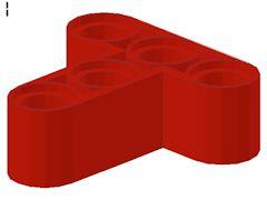 %60484 リフトアーム[赤]3x3(T字)