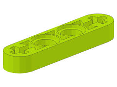 %32449 リフトアーム[黄緑]1x4x1/2(フラット)