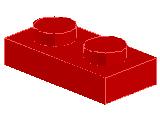 %3023 プレート[赤]1x2