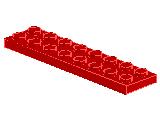 %3034 プレート[赤]2x8