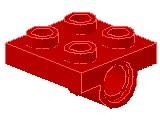 %2444 プレート[赤]2x2(下に軸受け1個)